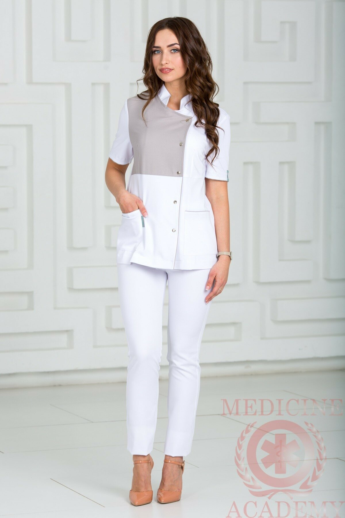 Блуза медицинская пф013