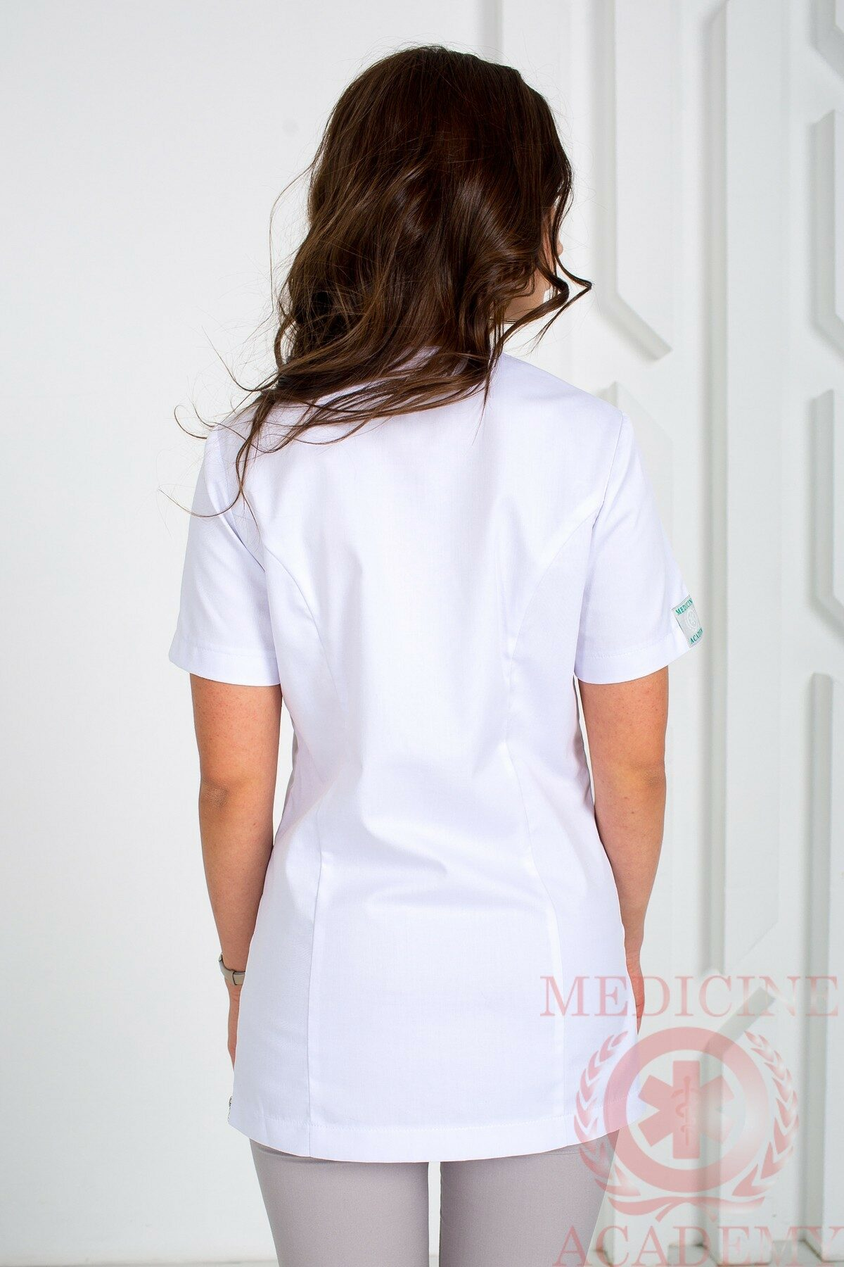 Блуза с тремя молниями пф07