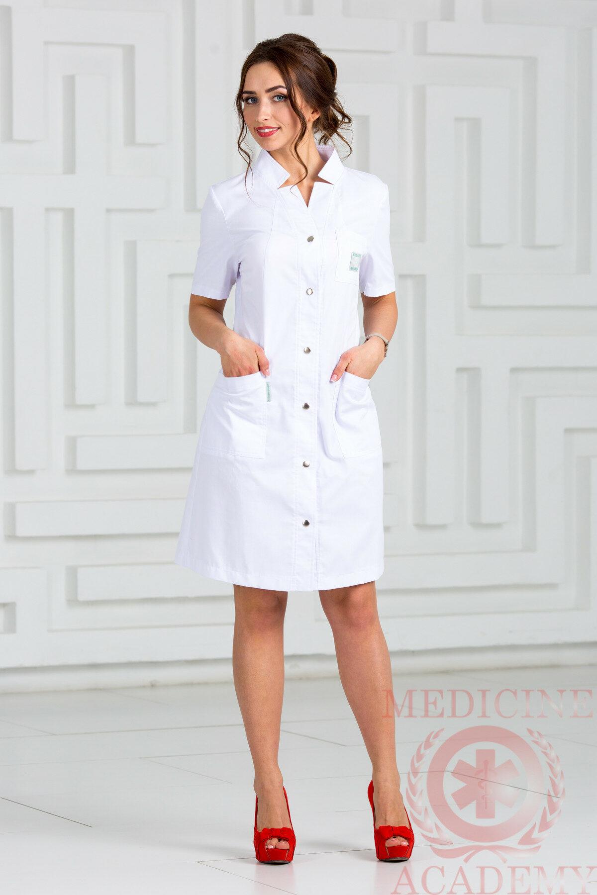 Медицинский халат ПФ012б