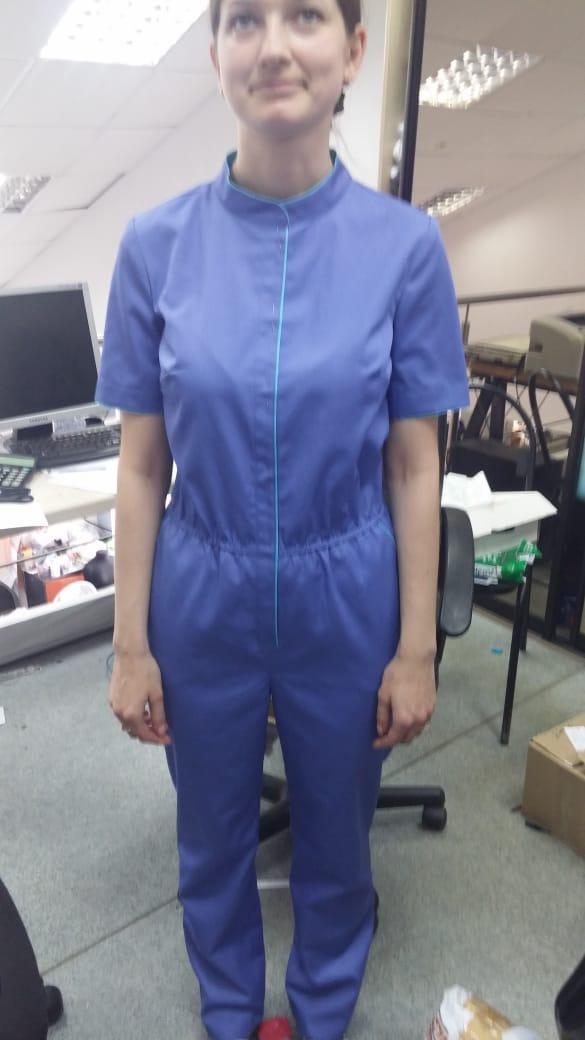 Примерка медицинской одежды
