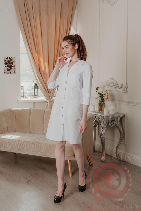 Белый халат медицинский
