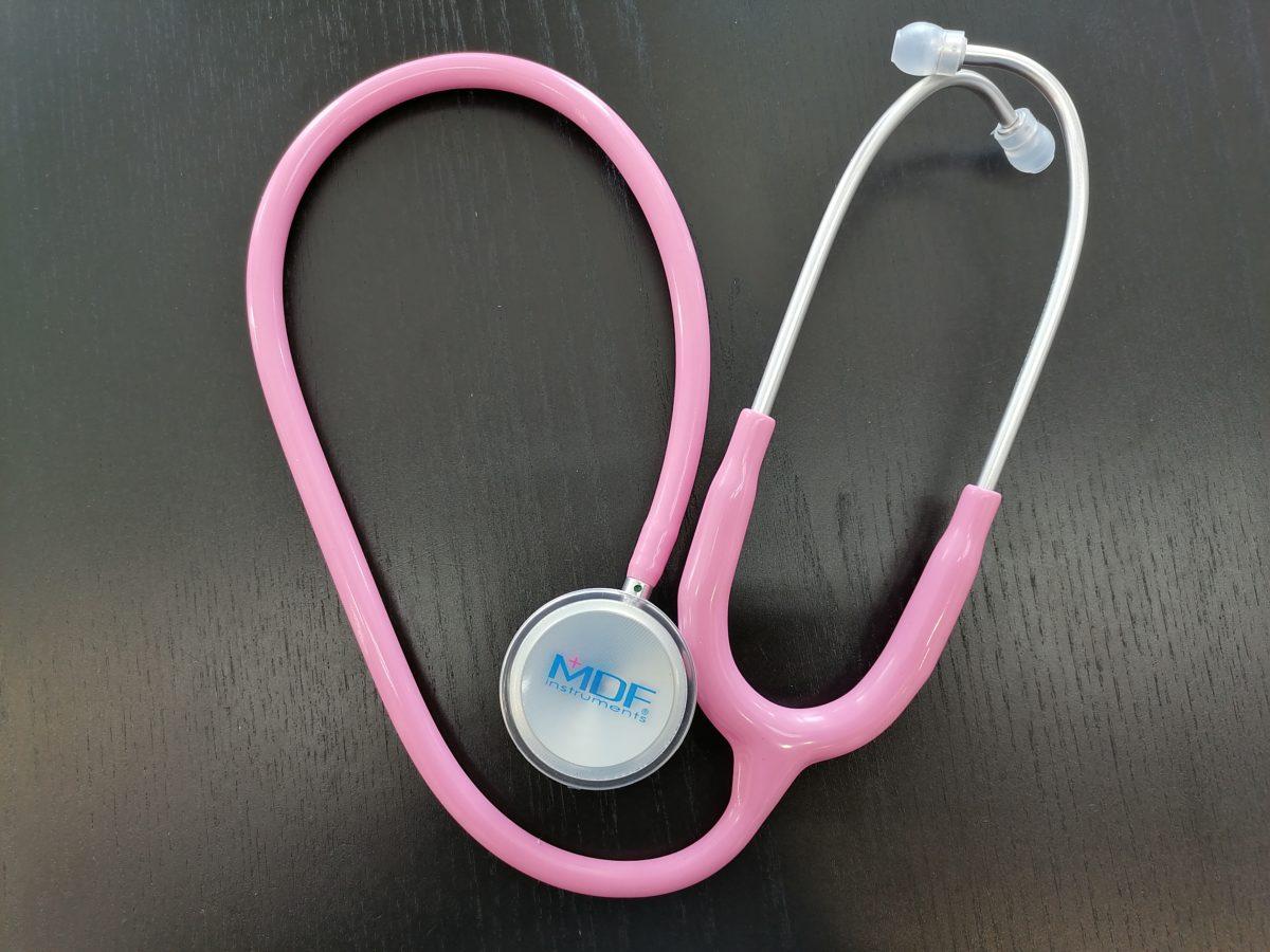 Стетоскоп розовый MDF747XP01