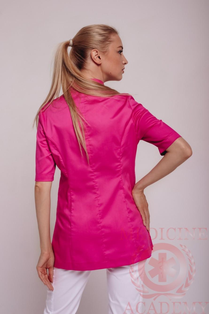 Блуза бледно-розовая пф048 77ma.ru