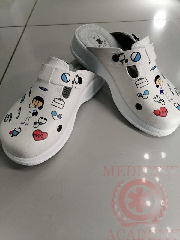 Женская медицинская обувь сабо-335