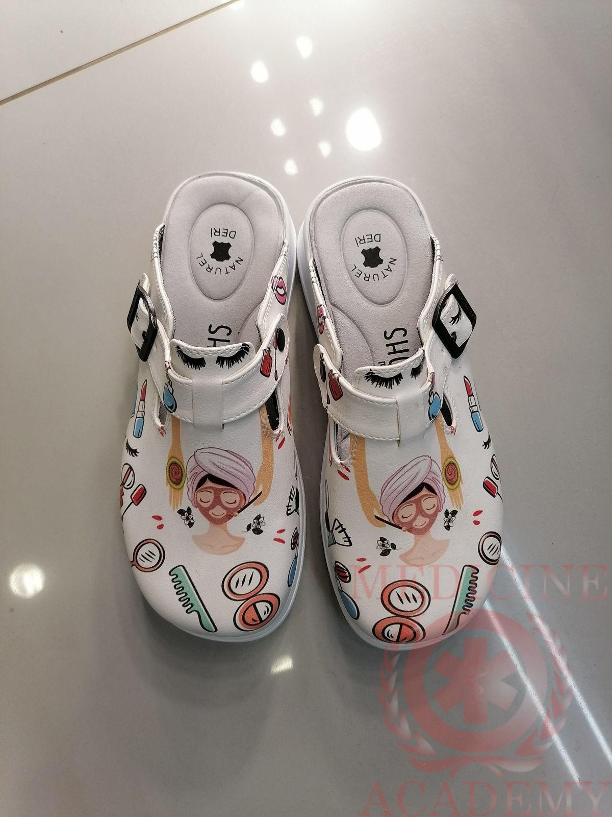 Женская медицинская обувь сабо 345