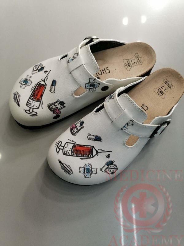 Женская медицинская обувь - сабо ShoeRokee