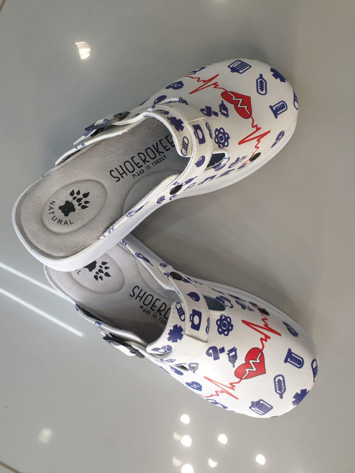 Женская медицинская обувь сабо-325